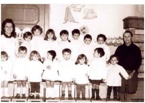 foto di gruppo asilo bozzi
