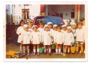 foto di gruppo ex alunni asilo bozzi