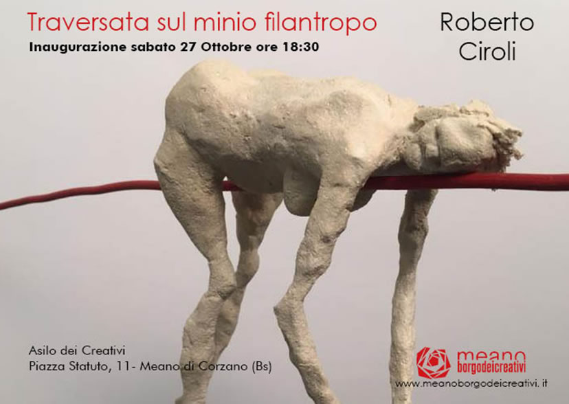 Roberto Ciroli mostra a Meano di Corzano